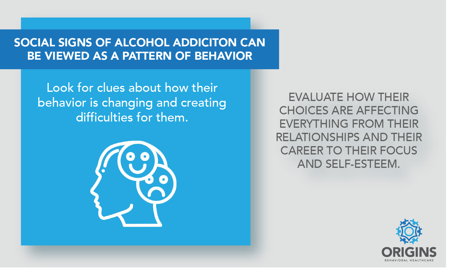 Social signs of alcohol addiction